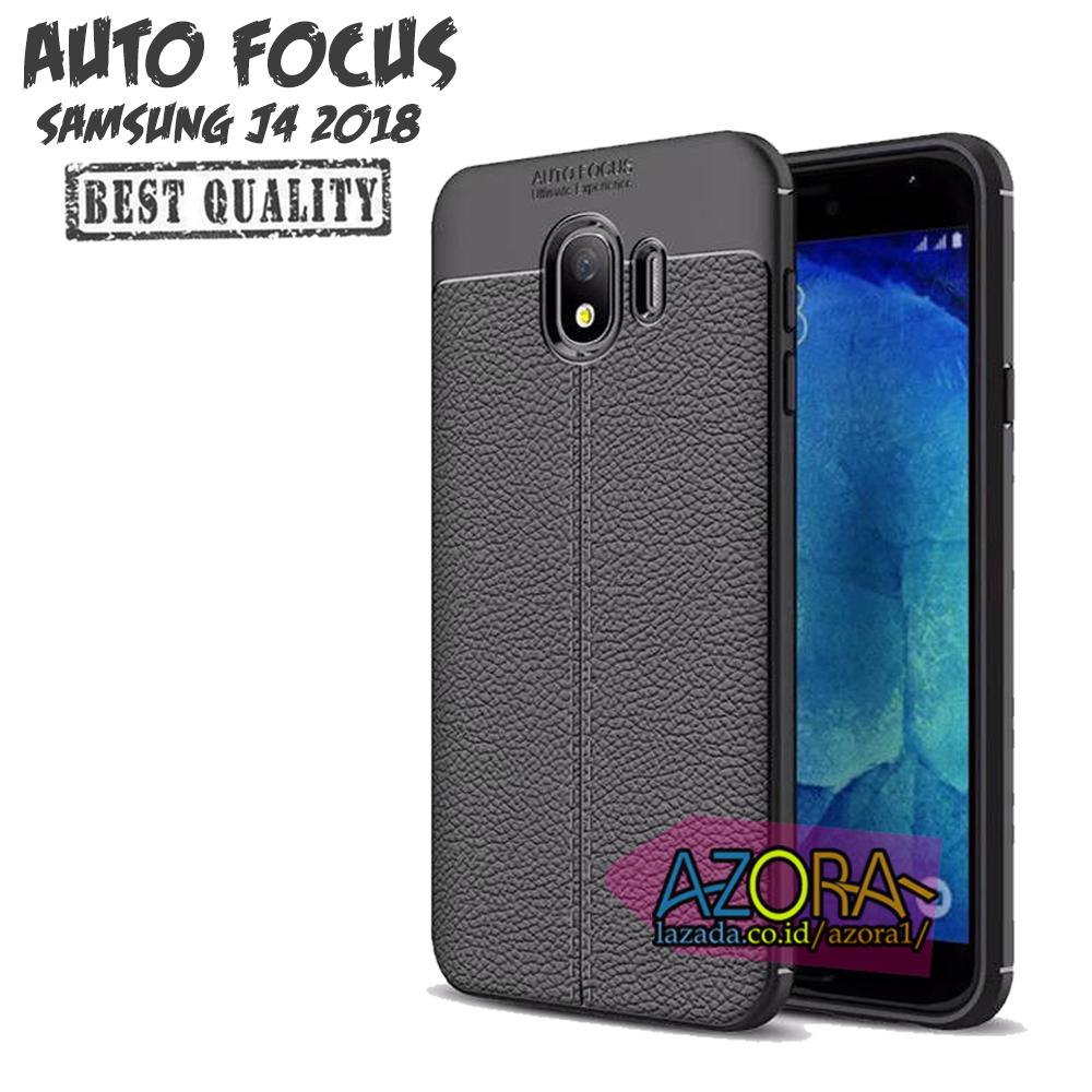 Case Auto Focus Samsung Galaxy J4 2018 Leather Experience Slim Ultimate