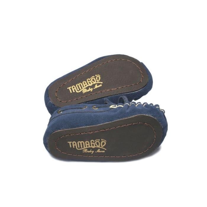 DISKON Sepatu Bayi Laki-laki Tamagoo-Marc Navy Baby Shoes Prewalker Murah TERMURAH