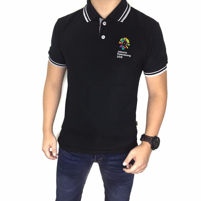 Kaos Kerah Shirt Asian Games 2018