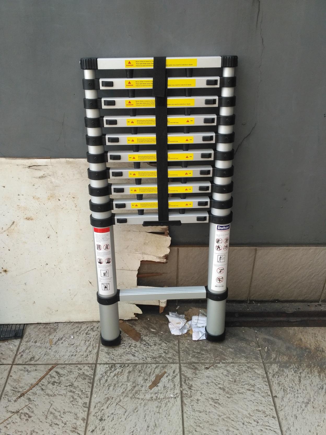 Tangga Pijakan Dalton Daftar Harga Desember 2018 Aluminium Step Ladder Ml 406 32 Meter Merk Single Telescopic