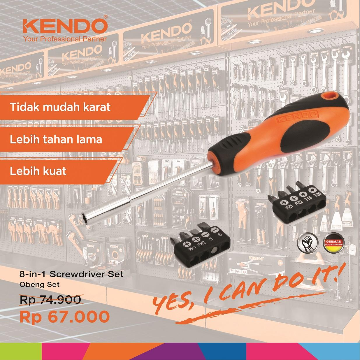 10 Buah 064 Cm Ph2 Dilapisi Titanium Magnetic Cross Mata Obeng 25 Mm Angin Bor Gypsum 65mm Double Ended Bits Screwdriver Kendo 8 In 1 Set Kd 20236 By Bionic Hardware