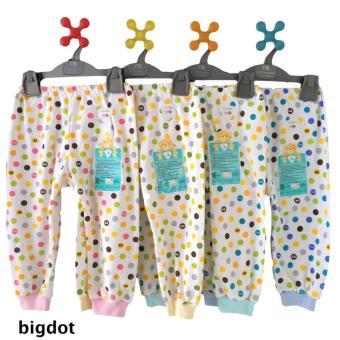 LIBBY 3pc Celana Panjang Pempers Motif S,M,L (II) / Celana Bayi / Baju Bayi