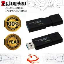 Kingston DT100G3 32GB DataTraveler USB Flashdisk ORIGINAL Garansi 1 Tahun