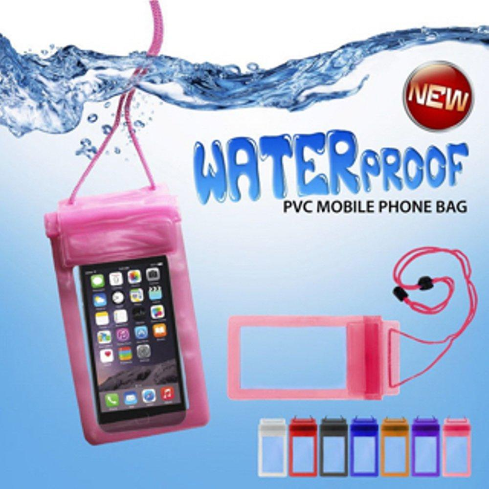 Waterproof Bag /Case for Smartphone up to 5,5 inc - Pouch Anti Air