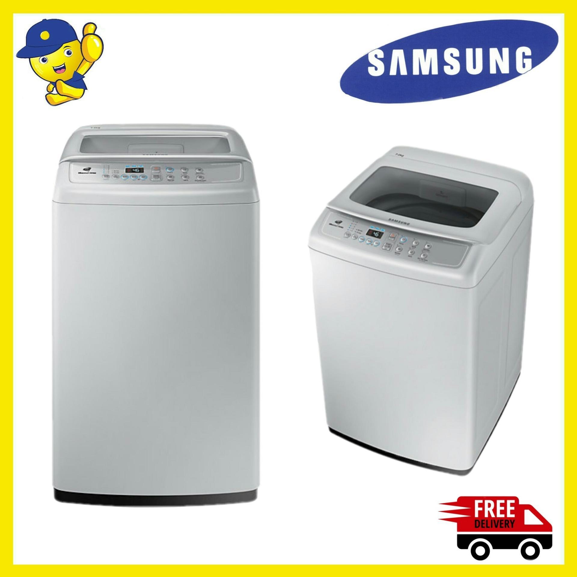 Samsung Mesin Cuci Top Load 7 Kg WA70H4000SG - Abu-abu - Gratis Pengiriman JABODETABEK