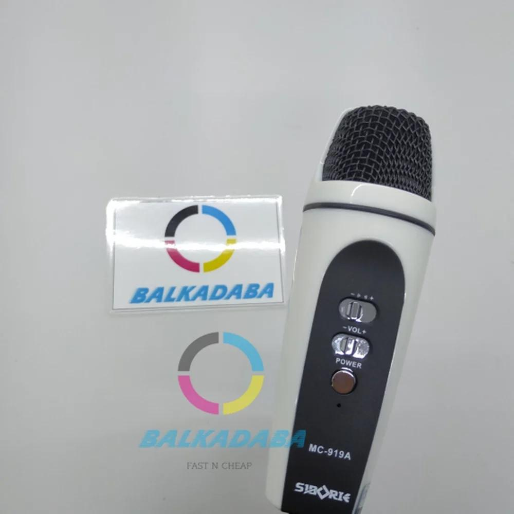 Microphone KTV Mic For Smartphone PC N Laptop SIBORIE