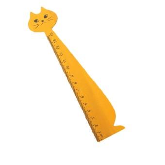 Cat Face Kayu Penguasa Kuning-Intl