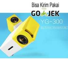 Mini Portable LED Projector Full HD with TF HDMI AV USB Port - YG-300