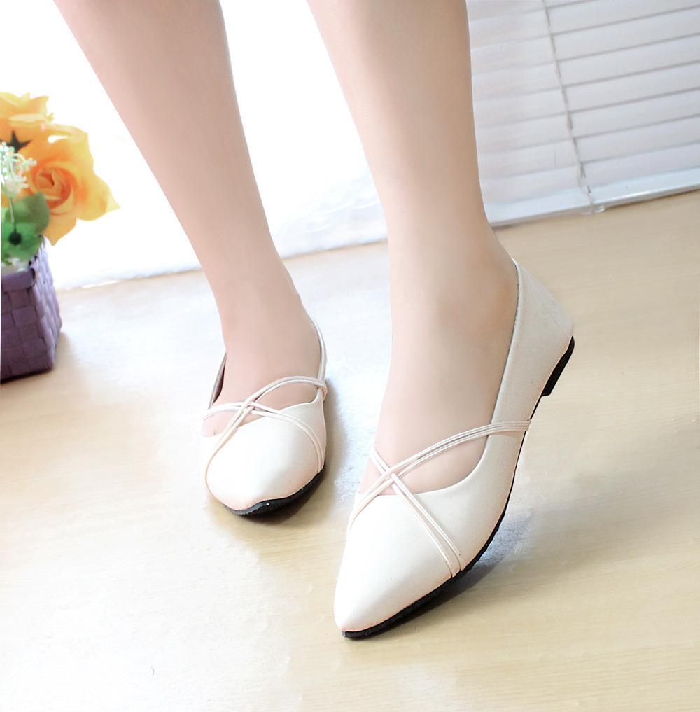Arlaine Panama Flat Shoes