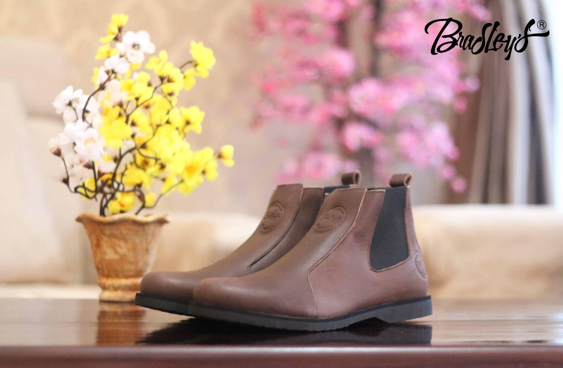 Sepatu Boots Kulit Asli - NEW Sepatu Boots Karet - Brodo Bradleys Brodo  Sepatu Boots Pria be05fab5dd