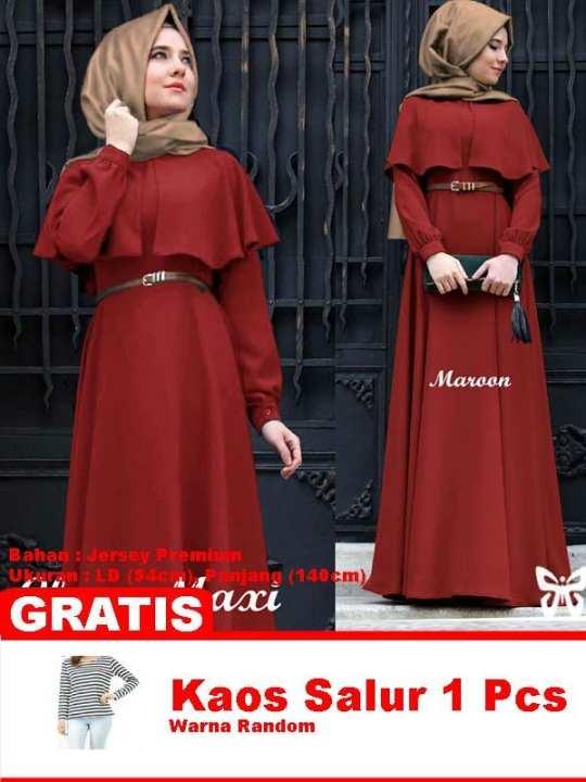 Baju Wanita Shop [best Seller] Baju Maxi Dress Gamis