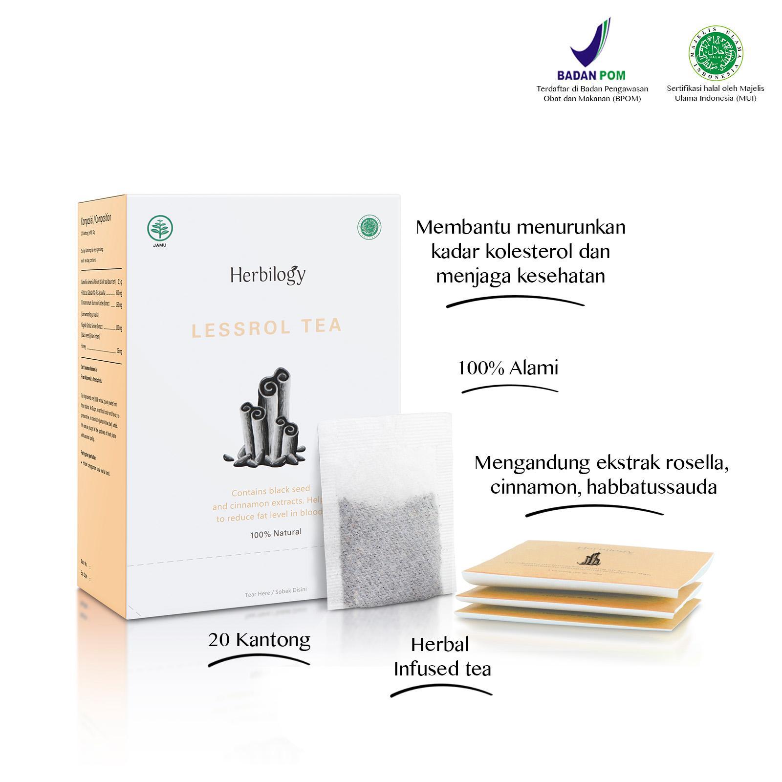 Herbilogy Slimming Capsule. Rp72.000.