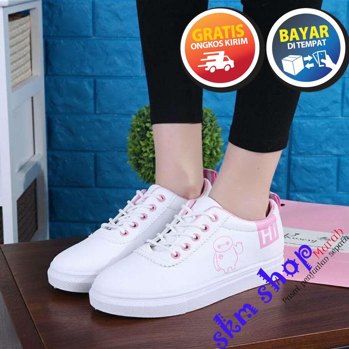 SKM Sepatu Kets Wanita dan Pria HI Baymax/ Sepatu Sneakers