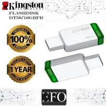 Kingston DataTraveler 50 USB 3.1 16GB - DT50/16GBFR ORIGINAL Garansi 1 Tahun