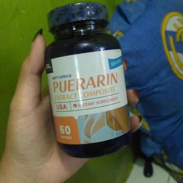 Puerarin Capsul New Formula Obat Pembesar Pengencang Montok Payudara Yang Paling Laris & Pembesar Original Puerarin
