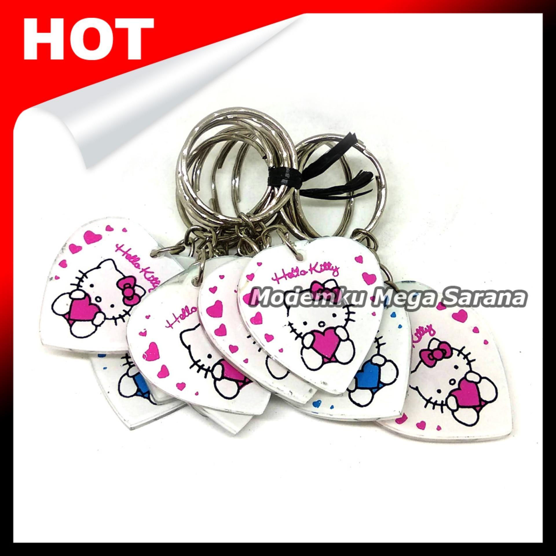 Souvenir Gantungan Kunci Hello Kitty MRT26 - Oleh Oleh Khas Jogja - 20pcs