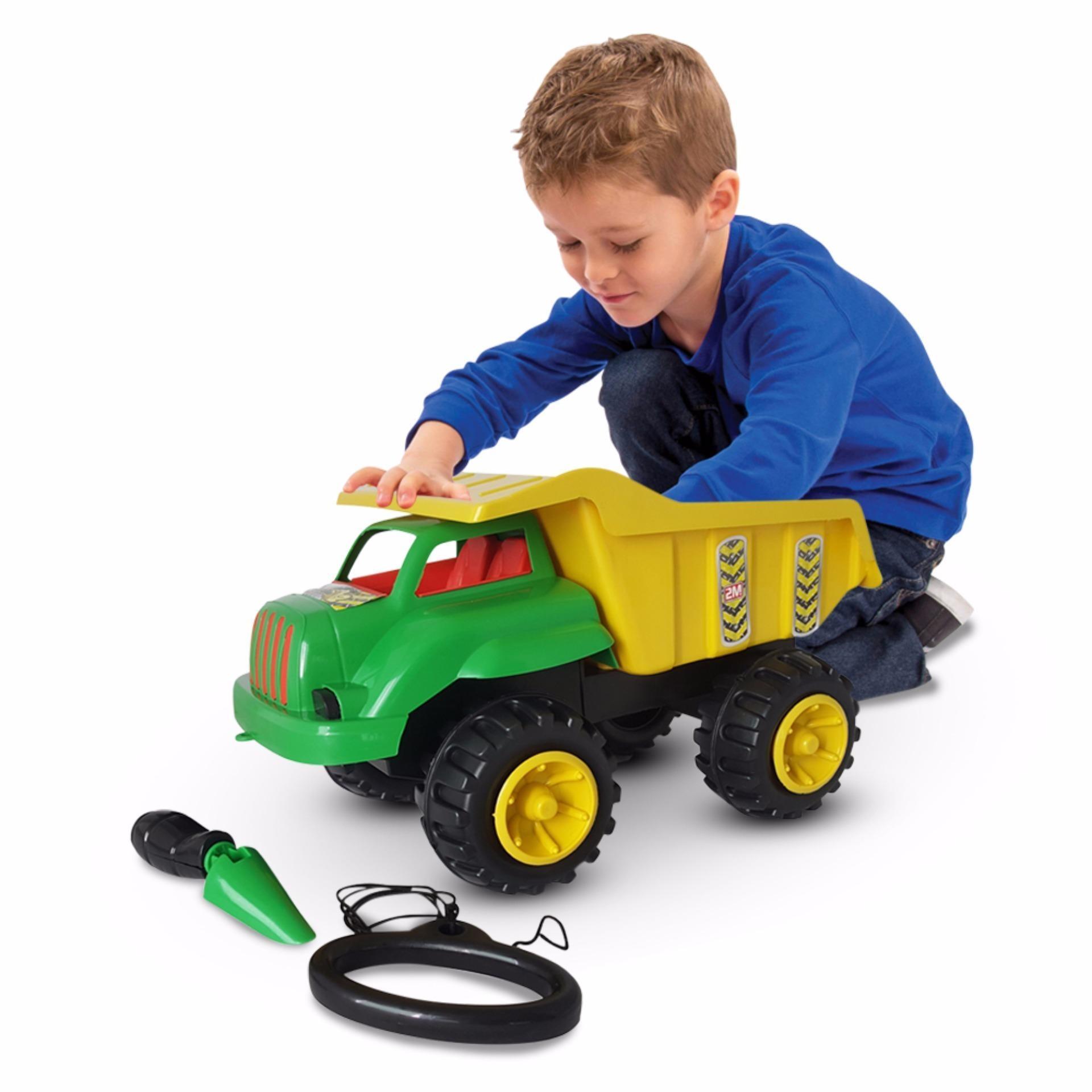 Ocean Toy Yotta Mobil Truck Pasir Crocodile Mainan Anak CRD Multicolor