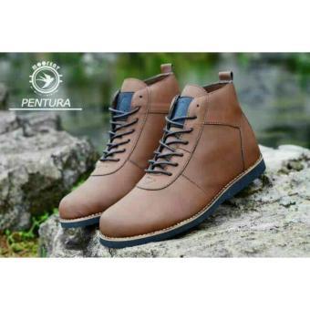 Sepatu Boots Pria Brodo Moofeat Original - Sepatu Touring Pria