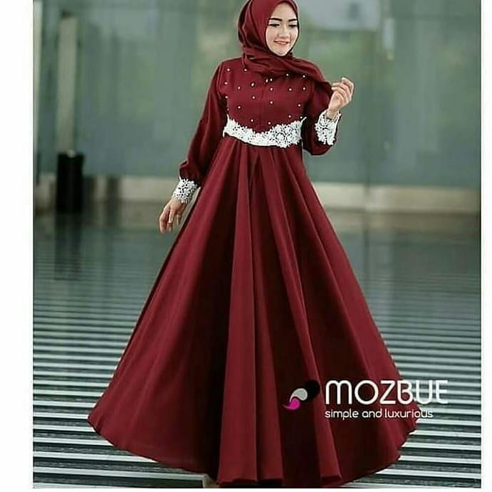 Baju Gamis Pajera Dress Balotely Baju Muslim Original Long Maxy Wanita Hijab Terbaru Pakaian Cewek Modis Fashion Seragam Syari Trendy Gaun Panjang