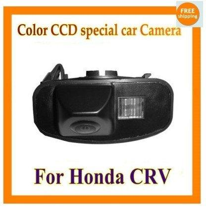 Factory color CCD Car Reverse Rear View backup Camera parking rearview For Honda CRV CR-V Odyssey Fit Jazz Elysion - intl