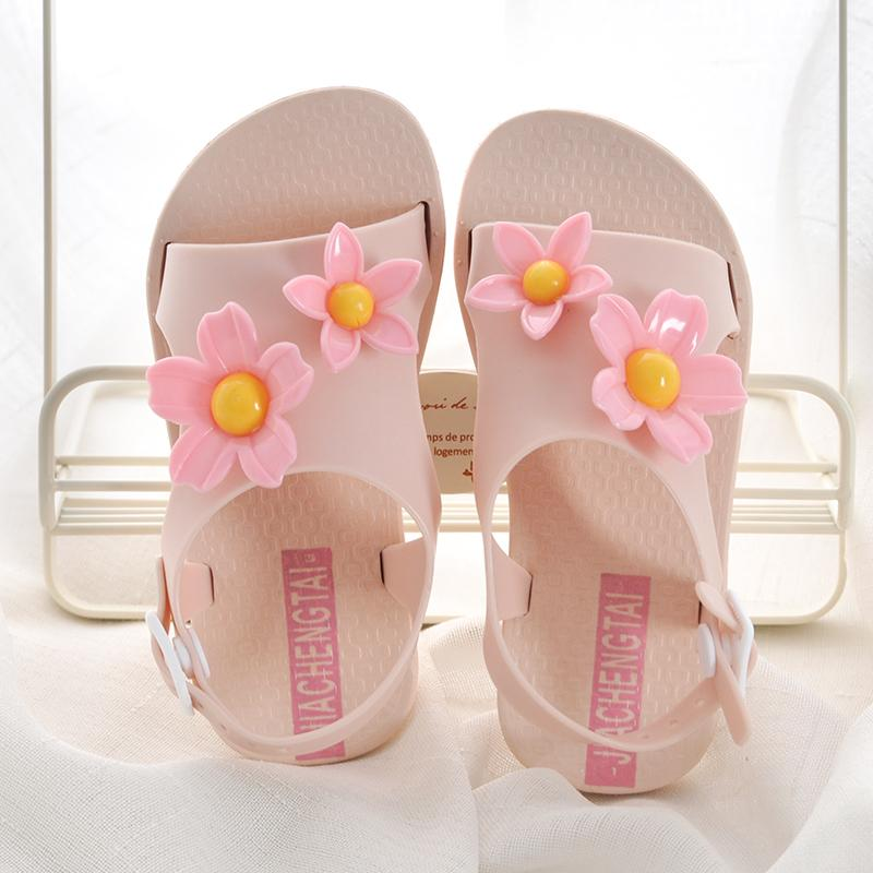 Sepatu Anak Anak Prempuan Sandal Summer Musim Panas 2018 Model Baru Petpet Anak-anak Versi
