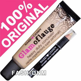 Hard Candy Glamoflauge Heavy Duty Concealer with Pencil - Medium Light 488