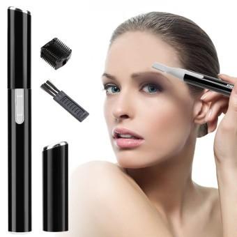 Cyber Hair Removal Pencukur Listrik Kaki Epilators Alis Pembersih Wajah  Pembentuk Penghias Pro (Hitam) 3ee46441d0