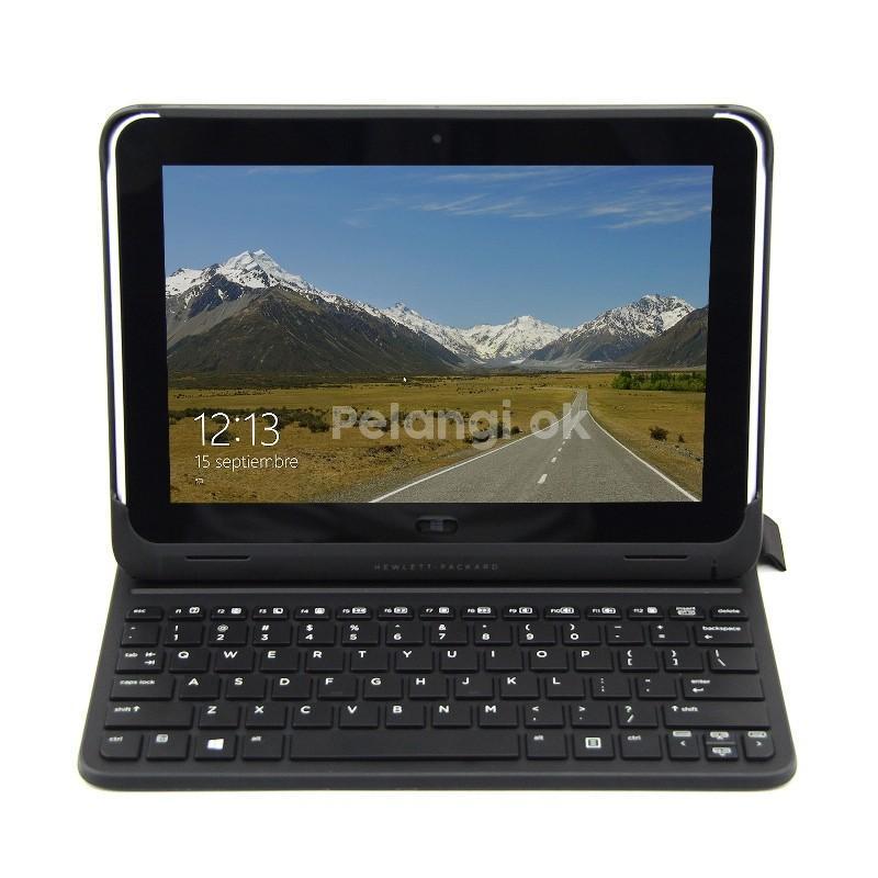 """HP ElitePad 900 G1 - Laptop - tablet Windows 8.1 - Intel z2760 - Netbook 10"""" Touchscreen - Ram 2GB - EMMC 32GB - Layar Bisa dilepas - Bergaransi"""