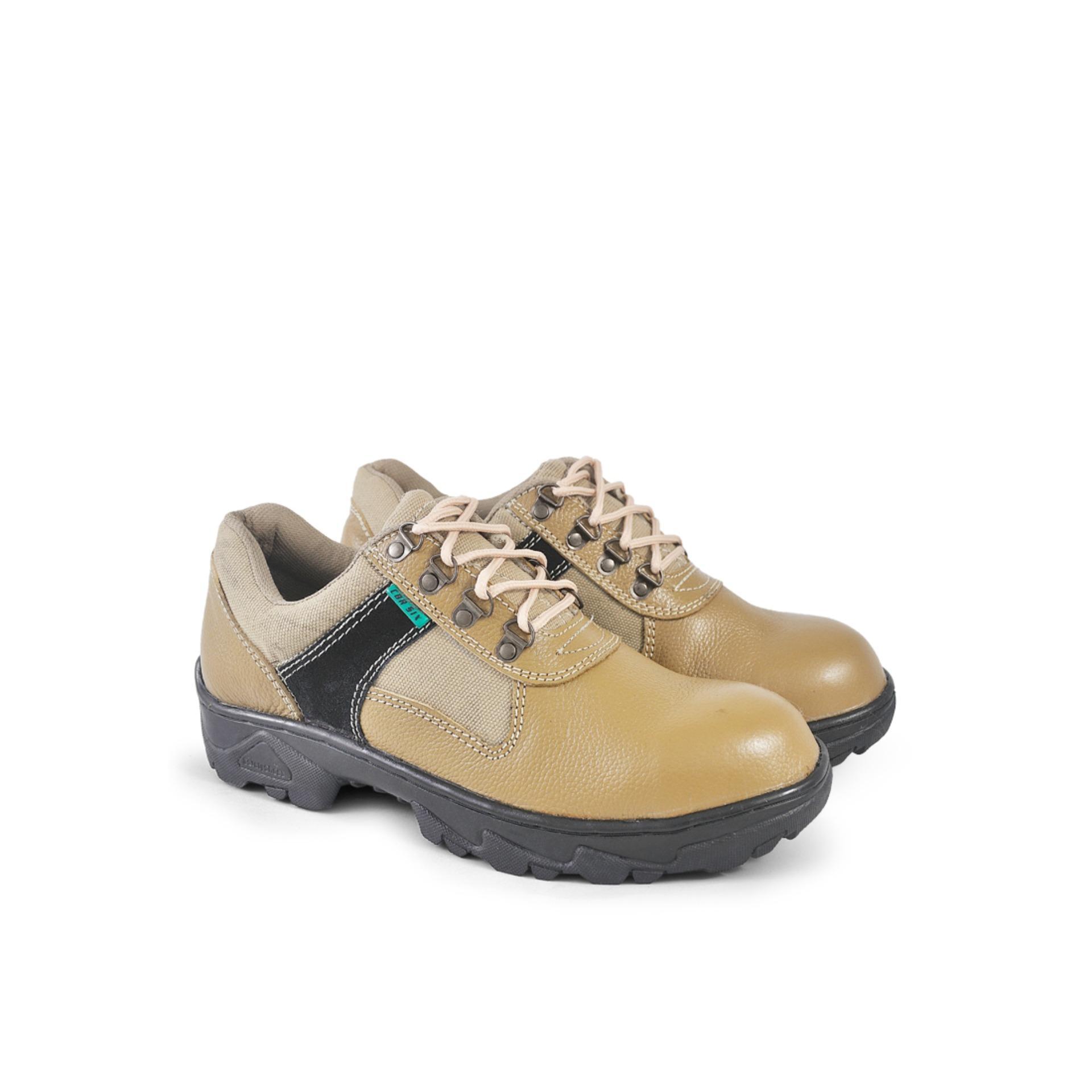 NIMO Sepatu Safety Pria HRC 379 - Tan 92926a1521