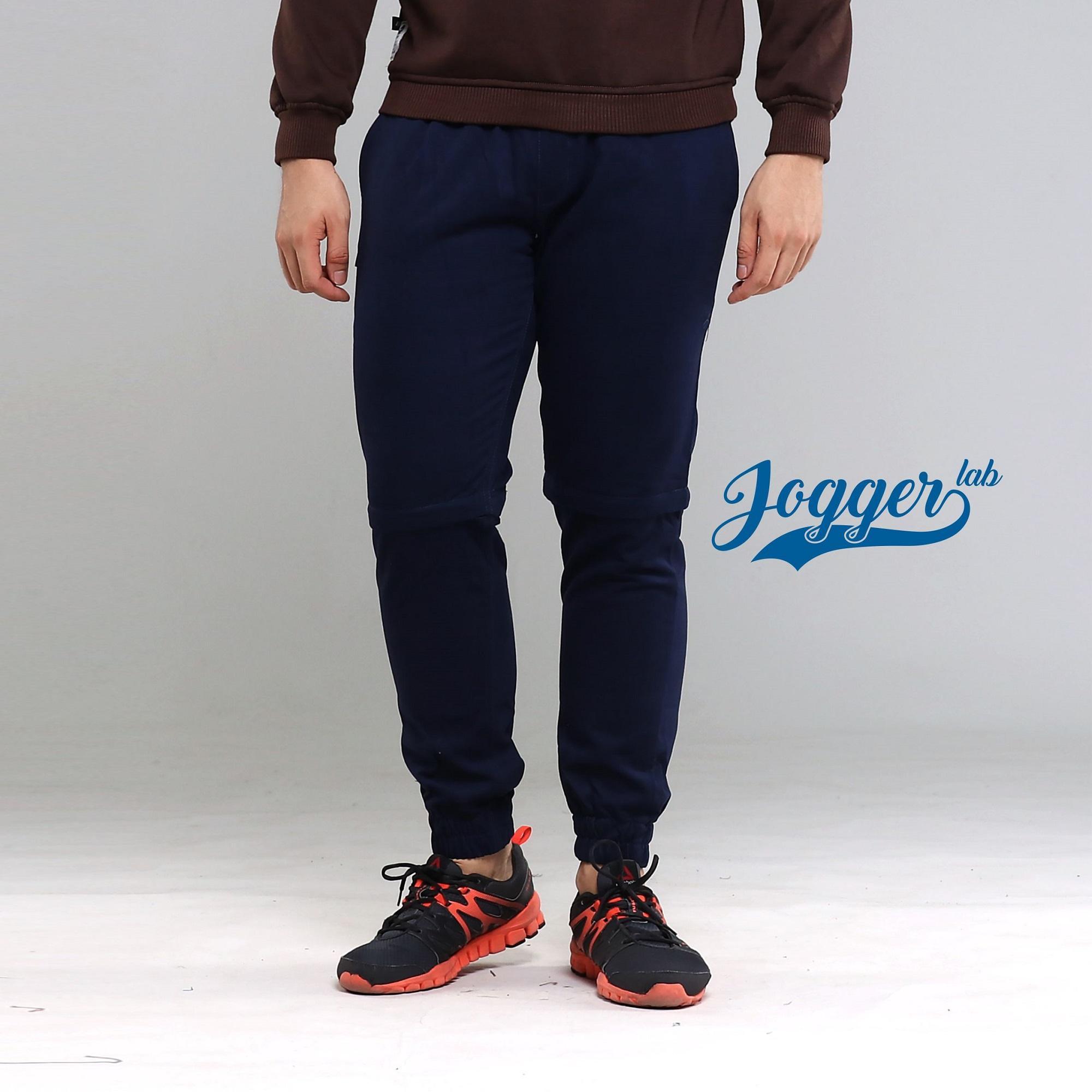 Jfashion Celana jogger training Panjang Pria Basic Brooklyn Source Jogger Lab Jogger 2 .