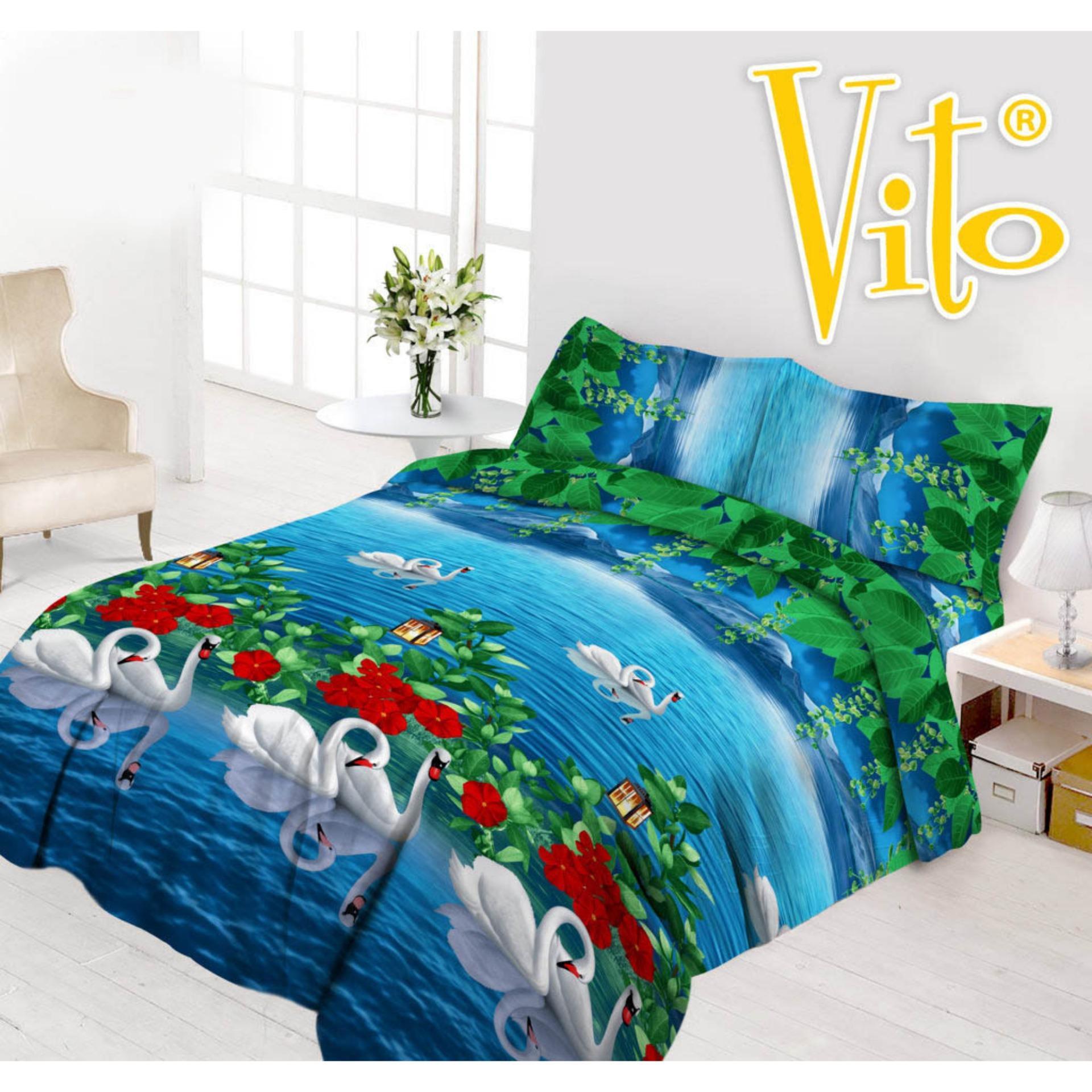 Furniture Vito Daftar Harga November 2018 Selimut Kids Sutra Panel 100x140 Keroppi Sprei Disperse Series Uk 180 B4 Swans