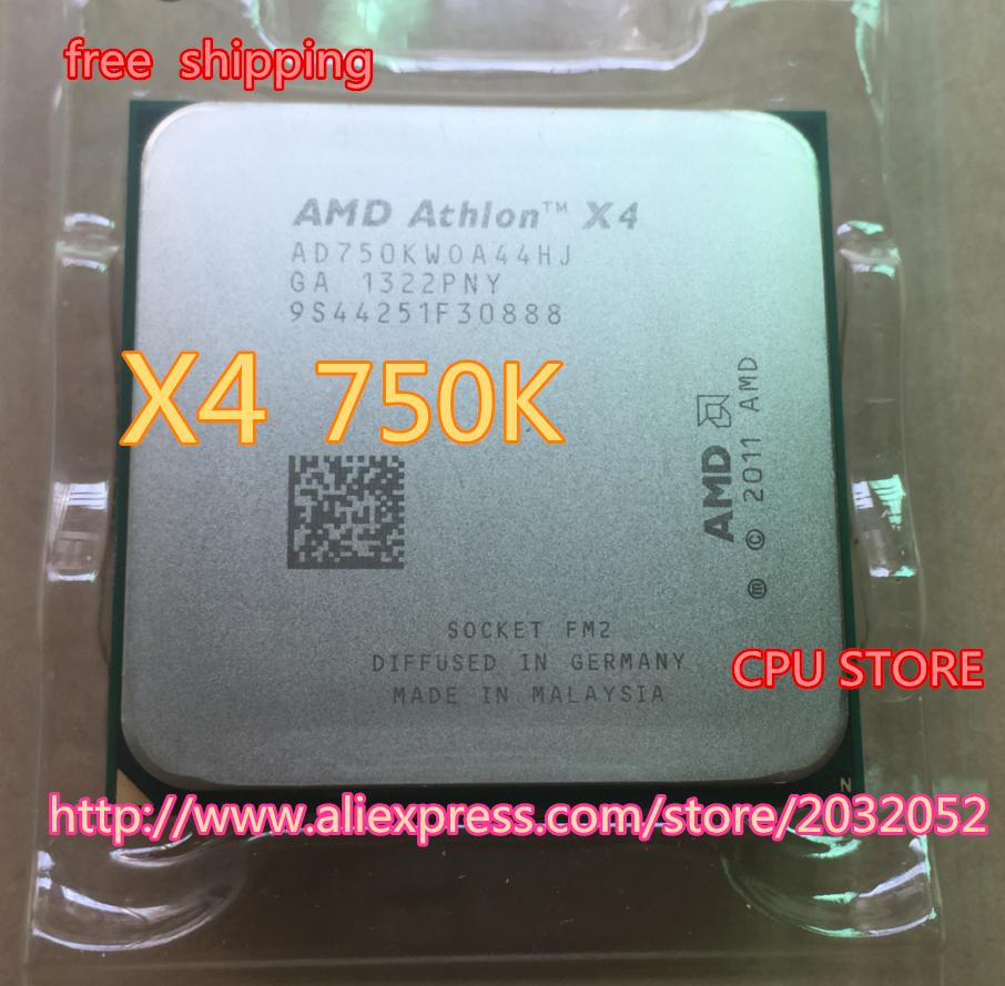 AMD Athlon II X4 750K x4 750K (3.4GHz 4MB 4 cores Socket FM2 904-pin)AD750KWOA44HJ Quad-Core CPU can work ch Store