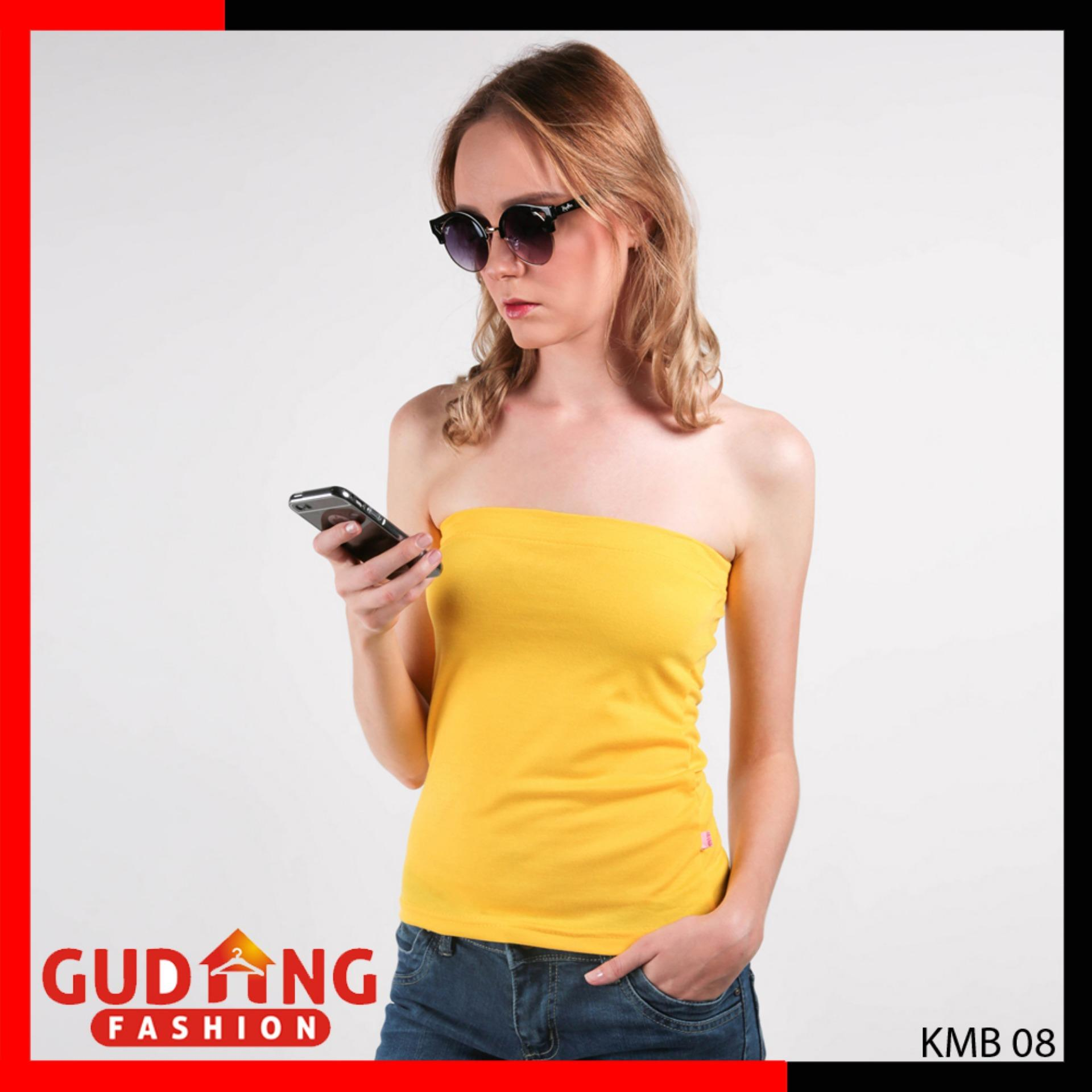 Gudang Fashion - Baju Wanita Kemben Modis - Putih  b0560cd305