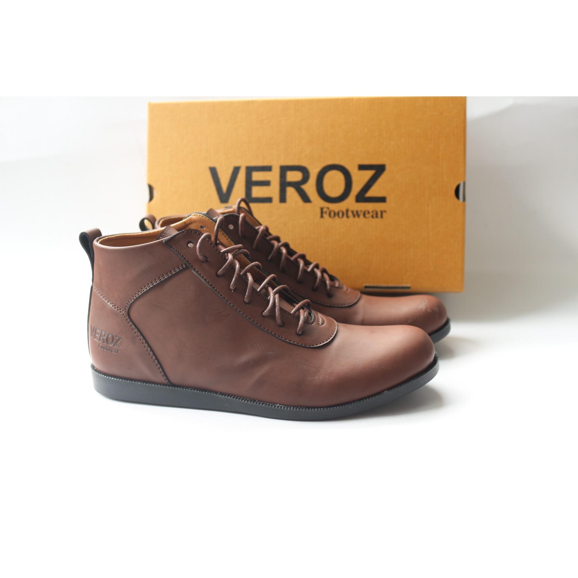 sepatu casual boots pria kerja formal santai kantoran veroz brodo original  footewar hunting kuliah 20d35e67b2