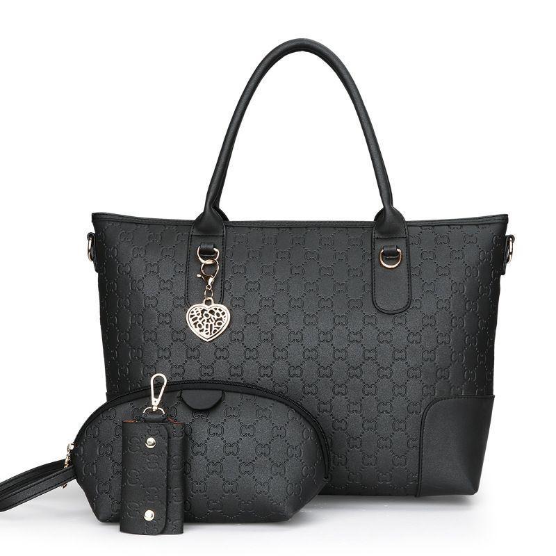 Tas Branded Wanita - Tote Bags - PU Leather - 83338(3IN1) 6783159335