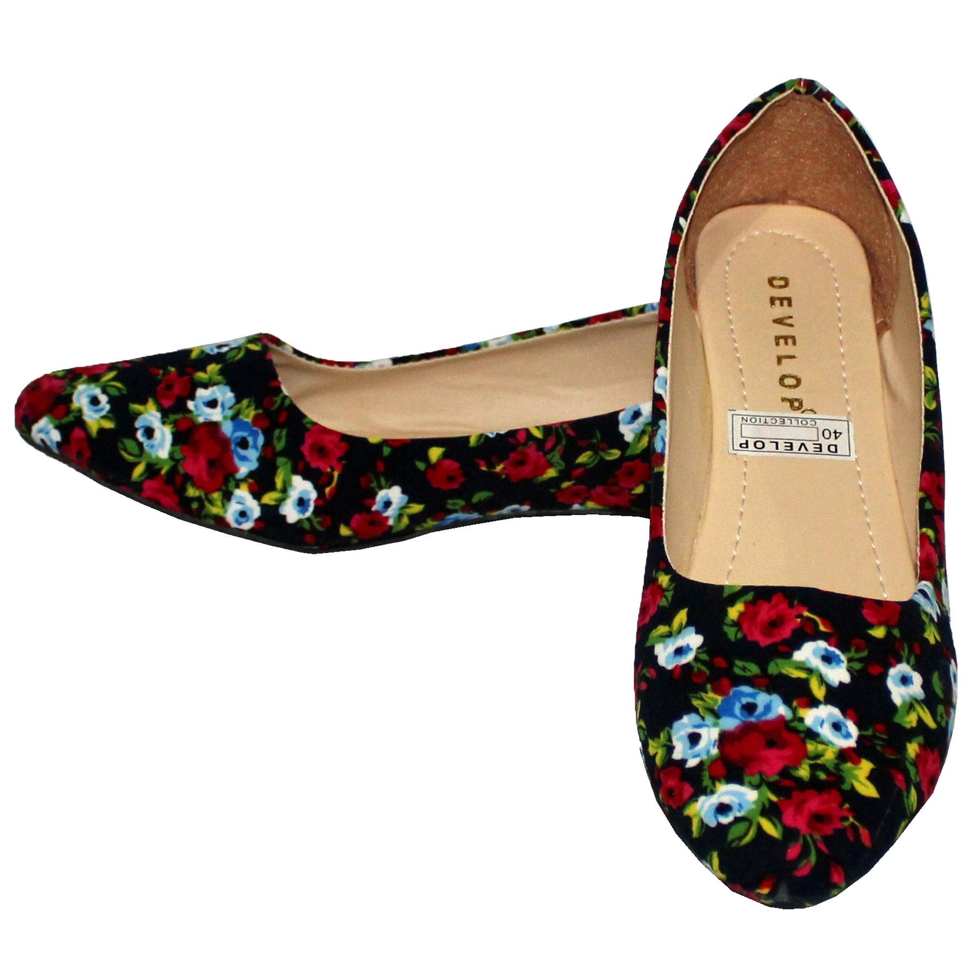 ... Binev Sepatu Slip On Wanita 38 BUNGA04Rp29 500