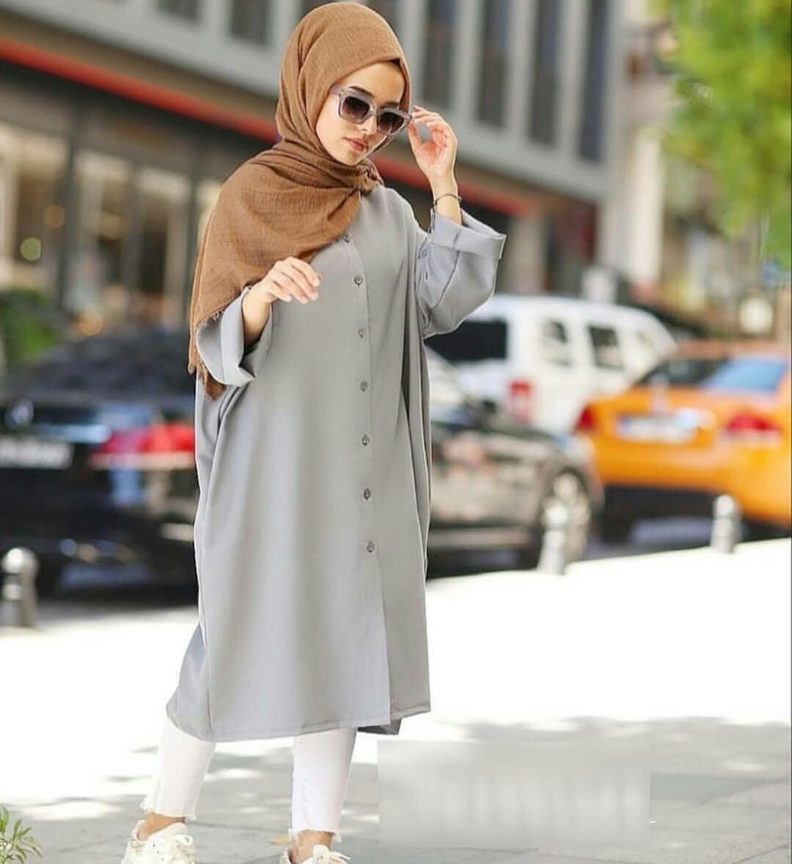 Rp75.300MC Baju Wanita Bedene Tunik Wolfice Busui Atasan Baju Wanita Muslim Dewasa Lengan Panjang Supplier Pakaian Bandung Termurah Fashion Cewek Kekinian ...