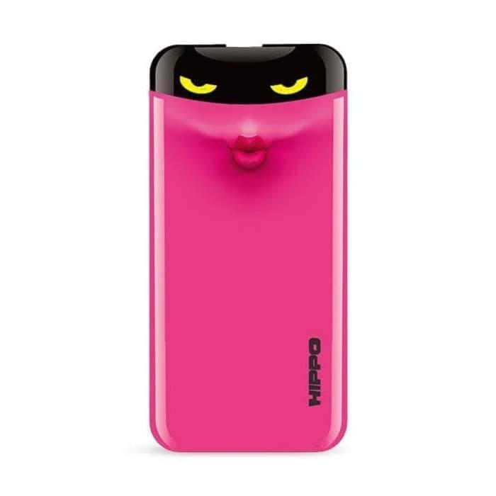 Hippo Power Bank Eyes 7000 mAh - Pink