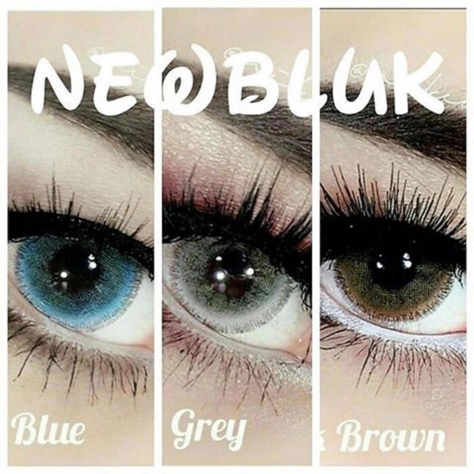 Softlens Eyezone Soft Lens Eye Zone Belle Eyes Made in Korea Source Lucky X2 Ice Nude