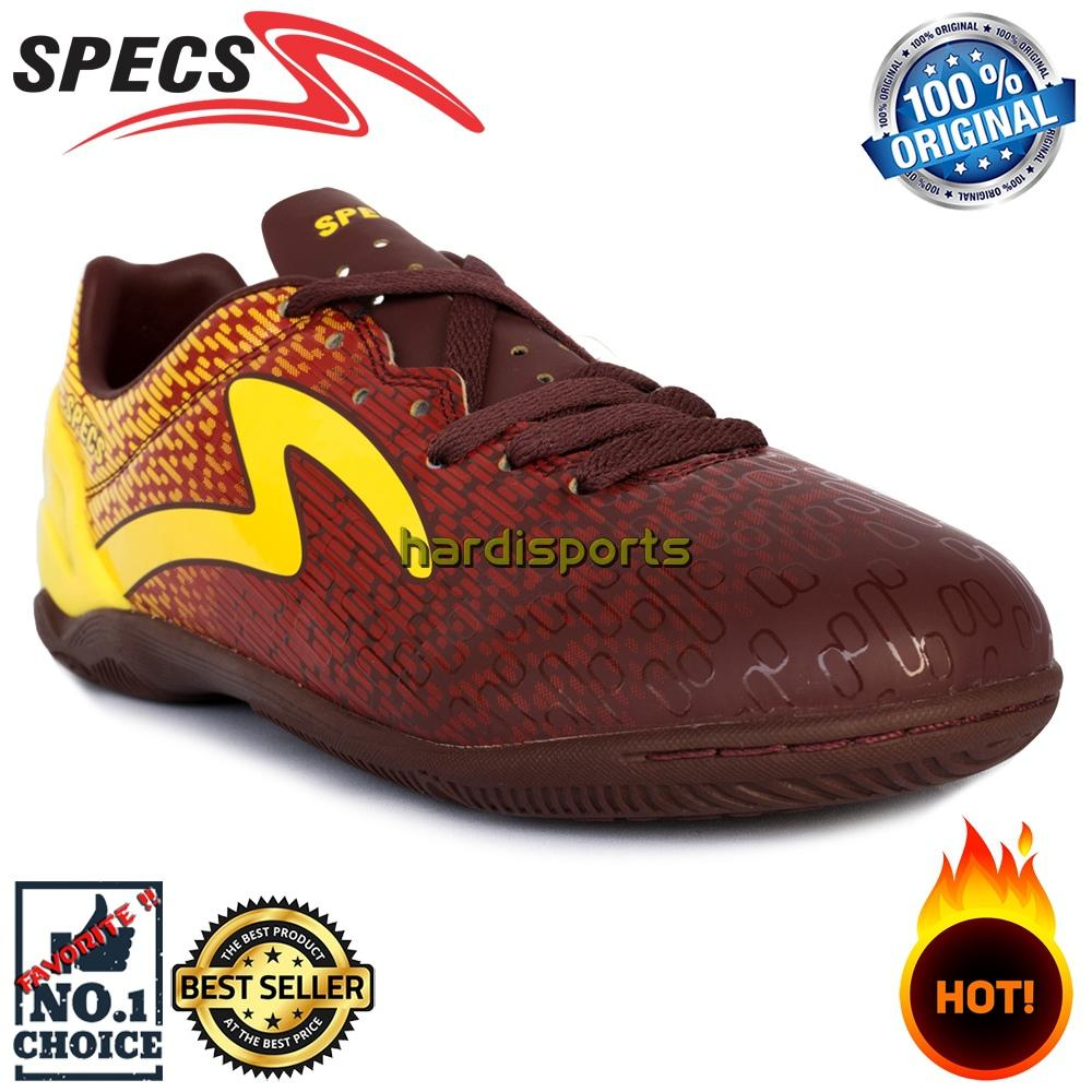 Sepatu Futsal Pria Specs Photon IN 400774 - Chocolate Emperor Red 1d9e9defc0