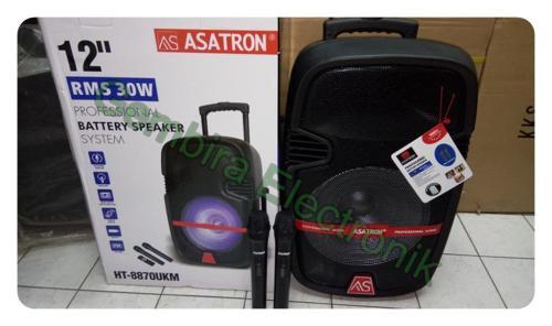 speaker portable 12 inch asatron ht8870 meeting wireless ht 8870 bluetooth - Portable Speaker [DKI