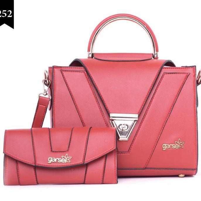 Garsel Fashion - Tas Wanita / Top Handle bag - Size P.25 T.