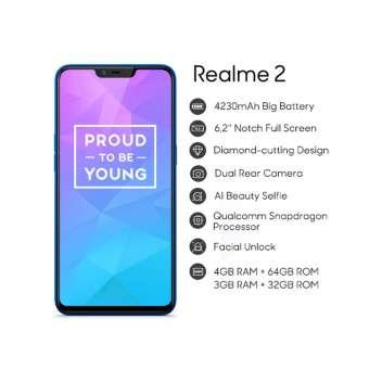 Realme 2 6,2'' Notch Full Screen 4230mAh battery