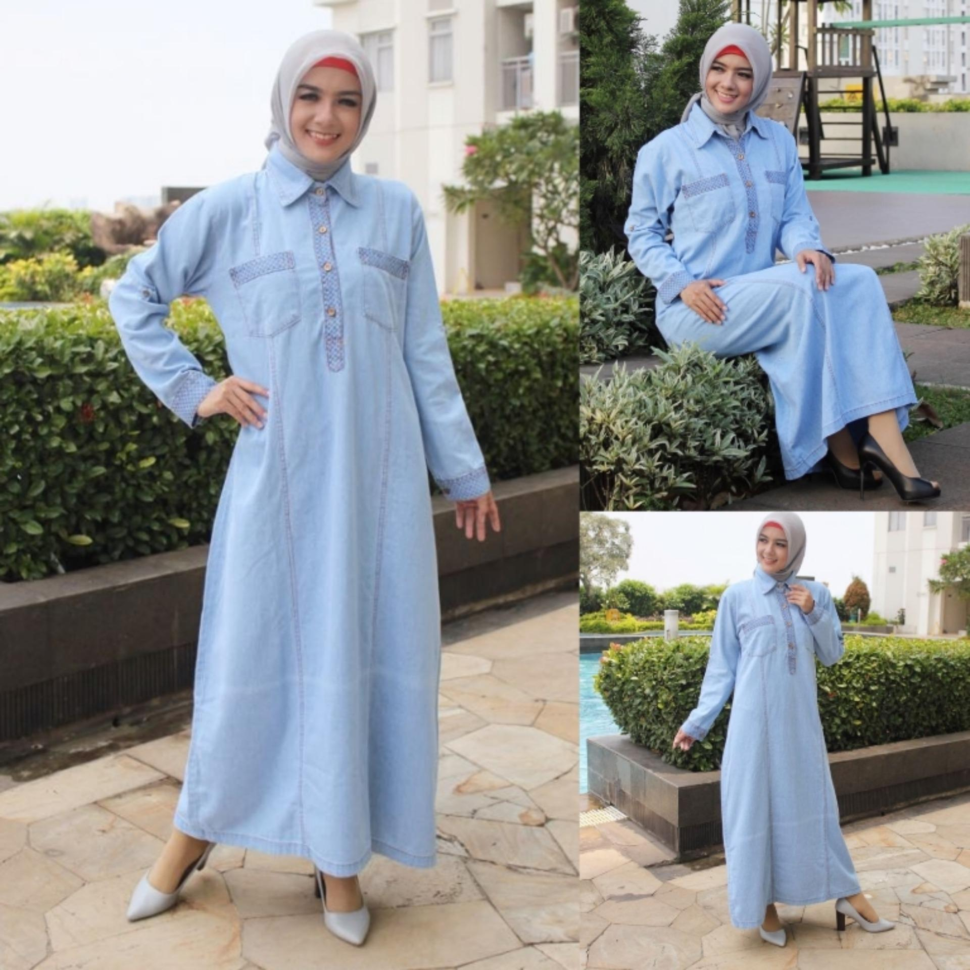 Vrichel Collection - Maxi / Dress / Gamis / Hijab / Maxi Dress Yeona