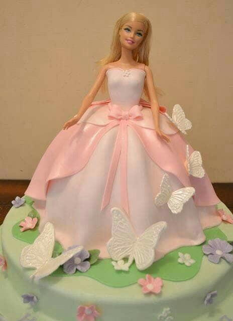 Topper Boneka Barbie Tusuk Untuk Cake Puding Tumpeng Lazada Indonesia