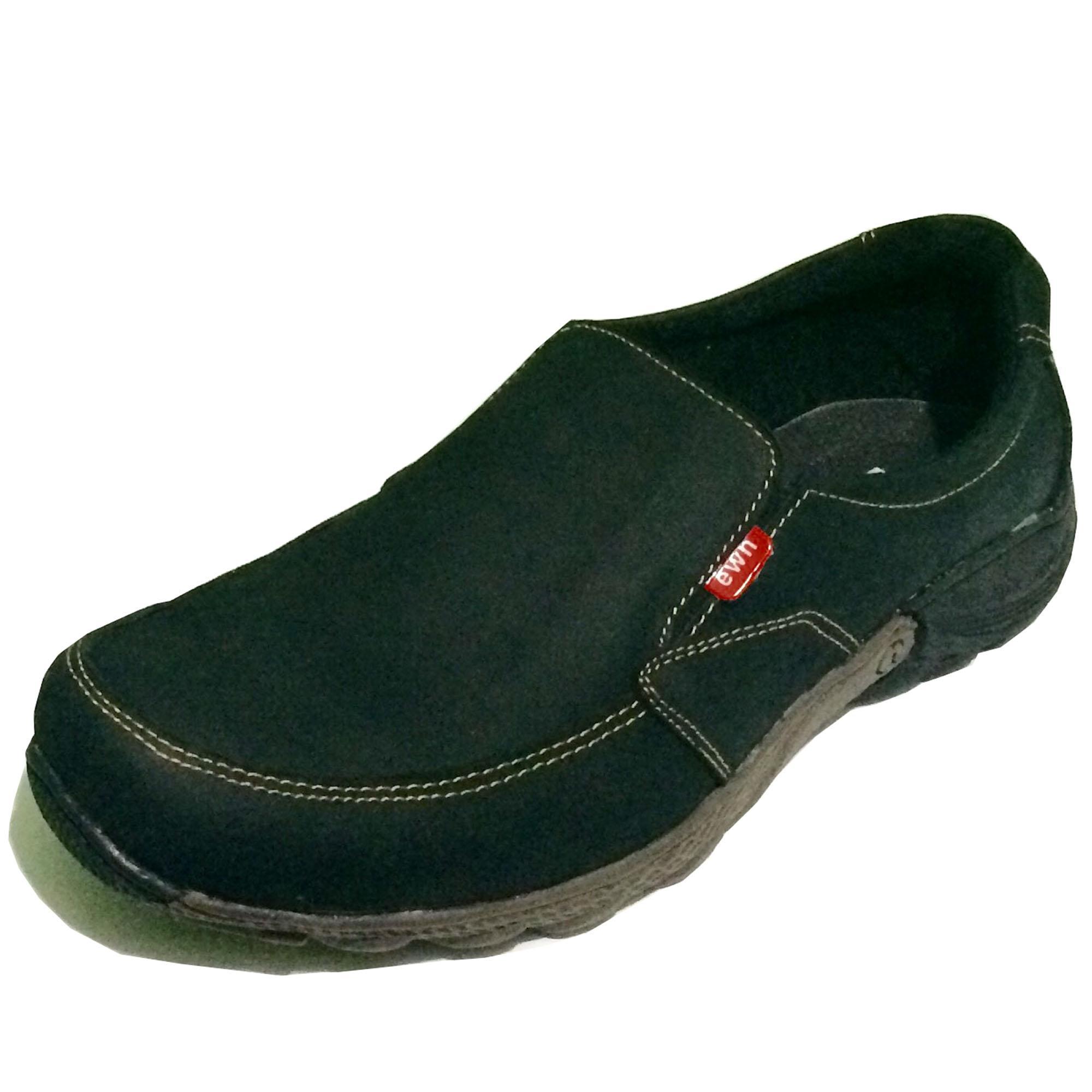Rp139.000Shoes X EWN Sepatu Slip On Casual Pria   Sepatu Kulit Asli   Sepatu  Formal 7e030c1cef