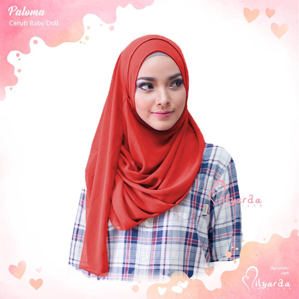 Hijabku Murah - Hijab Instan Paloma Ceruti Kerudung Jilbab Instant | Lazada Indonesia