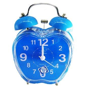RUIBAO Alarm Clock Jam Weker-Biru