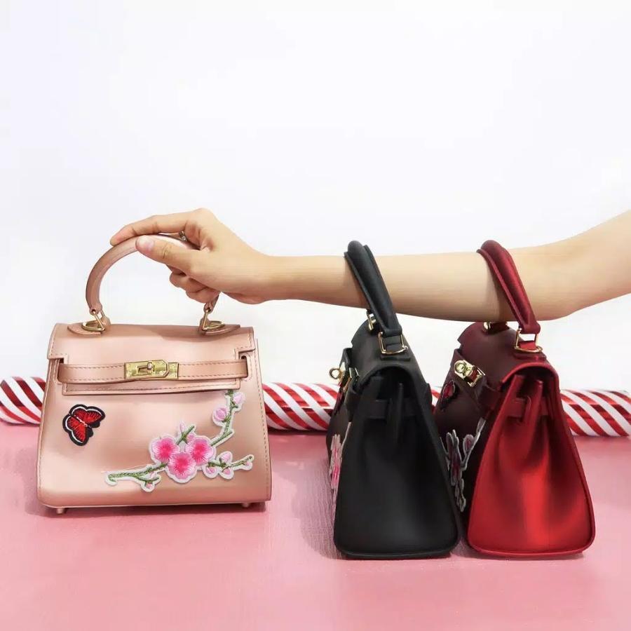 Women Fashion HollyTote Leather Handbags Shoulder Bags - Cream. Source · tas .