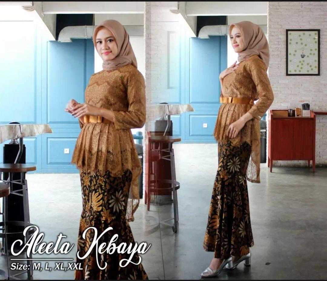 Setelan Kebaya WANITAKebaya Modern Hijab Remaja Style Modis Cantik rok  prisket pakaian baju wanita kebaya batik modern/Kebaya modern/kebaya